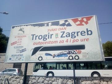автовокзал в Трогире