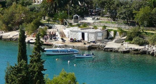 Хорватия Дайвинг Трогир, остров Чиово