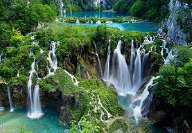 Плитвицкие озёра, водопады в Хорватии