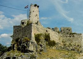 Хорватия Крепость Клис