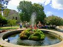Шибеник фонтан с черепахами