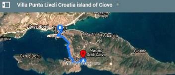 Villa Punta Liveli на карте Google